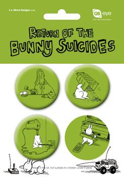 BUNNY SUICIDES - Pack 2 - Emblemas