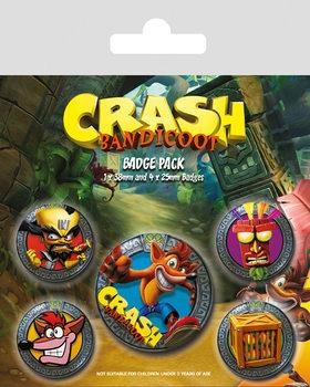 Crash Bandicoot - Pop Out - Emblemas