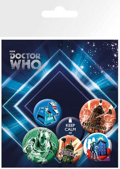DOCTOR WHO - retro - Emblemas