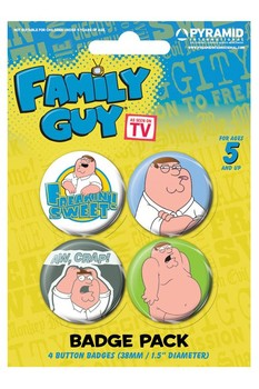 FAMILY GUY - peter - Emblemas