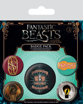 Fantastic Beasts And Where To Find Them - Emblemas