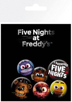 Five Nights at Freddys - Emblemas