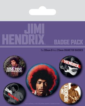 Jimi Hendrix - Experience - Emblemas