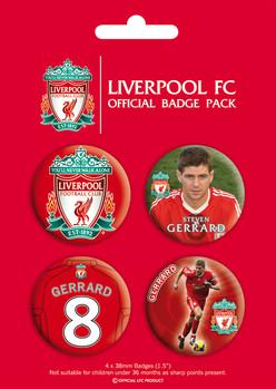 LIVERPOOL - gerrard - Emblemas