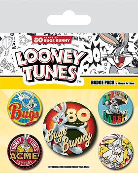 Looney Tunes - Bugs Bunny 80th Anniversary - Emblemas