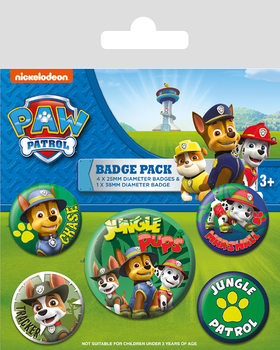Paw Patrol - Jungle - Emblemas