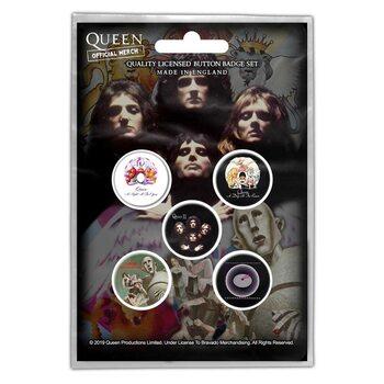 Queen - Early Albums - Emblemas