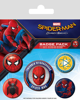 Spider-Man Homecoming - Emblemas