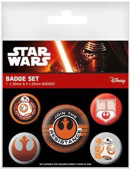 Star Wars Episode VII - Resistance - Emblemas