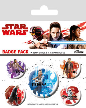 Star Wars The Last Jedi - Icons - Emblemas