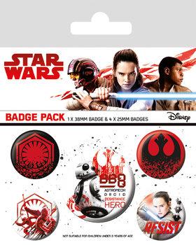 Star Wars The Last Jedi - Resist - Emblemas