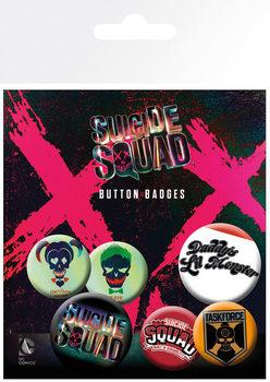 Suicide Squad - Lil Monster - Emblemas
