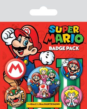 Super Mario - Emblemas