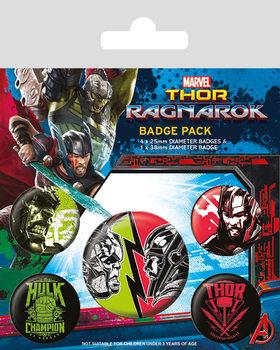 Thor Ragnarok - Emblemas