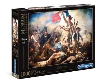 Puzzle Eugène Delacroix - Liberty Leading The People