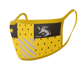 Face masks Harry Potter - Hufflepuff (2 pack)