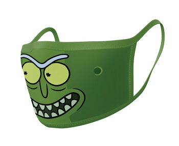 Face masks Rick & Morty - Pickle Rick (2 pack)