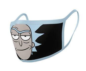 Face masks Rick & Morty - Rick (2 pack)