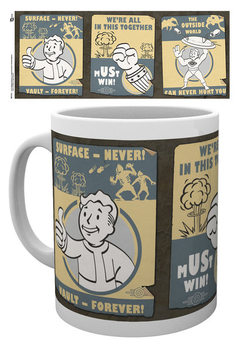 Caneca Fallout - Vault posters