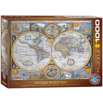 Palapeli Antique World Map