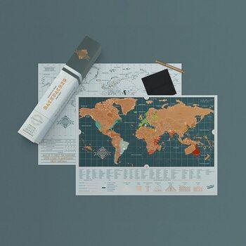 Raaputuskartta Backpacker Edition