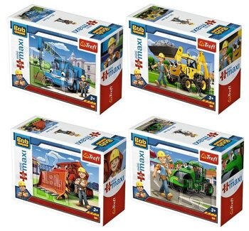 Puzzle Bob The Builder 4in1