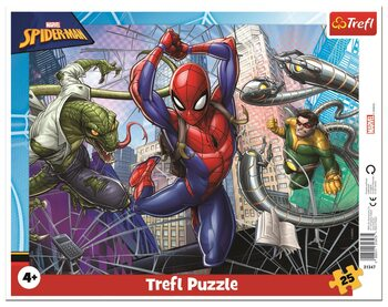 Puzzle Brave Spiderman
