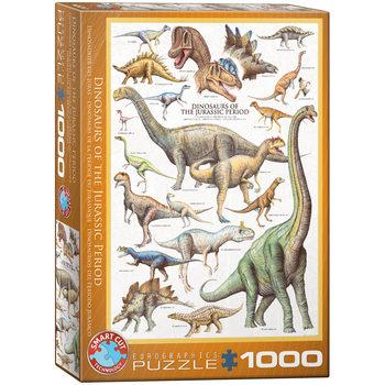 Palapeli Dinosaurs of Jurassic Period