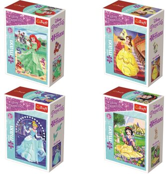 Palapeli Disney Princess 4in1