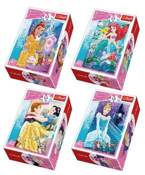 Palapeli Disney Princess: In the Fairyland 4in1