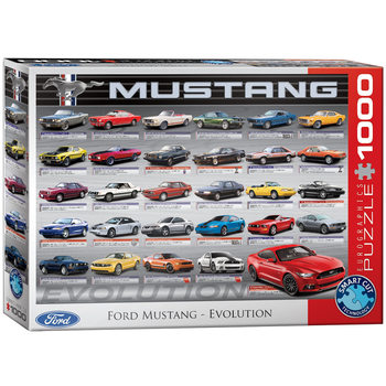 Palapeli Ford Mustang Evolution