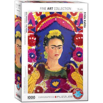 Palapeli Kahlo Self Portrait with Birds
