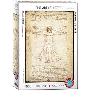 Palapeli Leonardo da Vinci - The Vitruvian Man