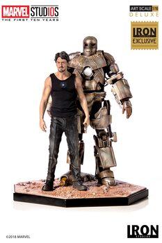Hahmot MCU 10 Years - Tony Stark & Mark I