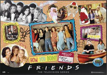 Pelipöydän matto Friends