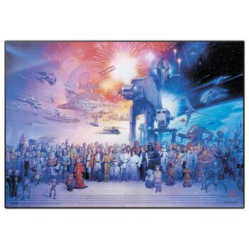 Pelipöydän matto Star Wars - Legacy Characters