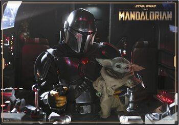 Pelipöydän matto Star Wars: The Mandalorian