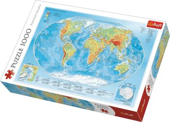 Palapeli Physical Map of the World