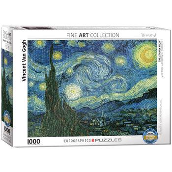 Palapeli Starry Night by van Gogh