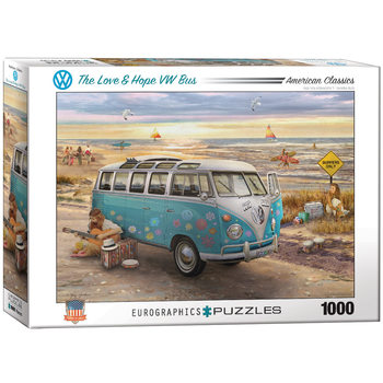 Palapeli The Love & Hope VW Bus