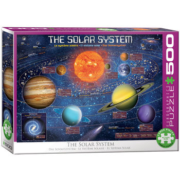 Palapeli The Solar System Illustrated