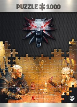 Palapeli The Witcher - Playing Gwent