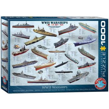 Palapeli WW II Warships