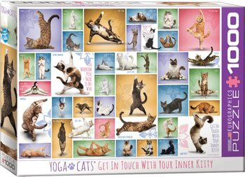 Palapeli Yoga Cats