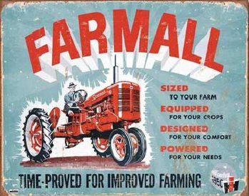 FARMALL - Model A Plaque métal décorée