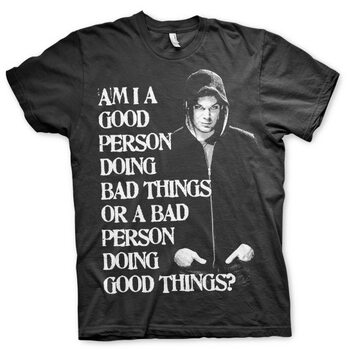 T-shirt Dexter - Bad Person Doing Good Things