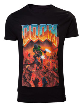 T-shirt DOOM - Classic Boxart