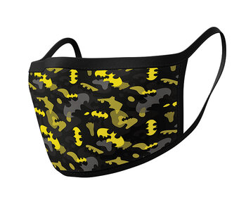 Fashion Face masks Batman - Camo Yellow (2 pack)
