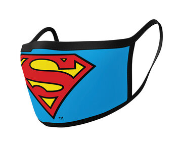 Fashion Face masks Superman - Logo (2 pack)