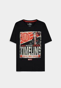 T-shirt Loki - Timeline Poster